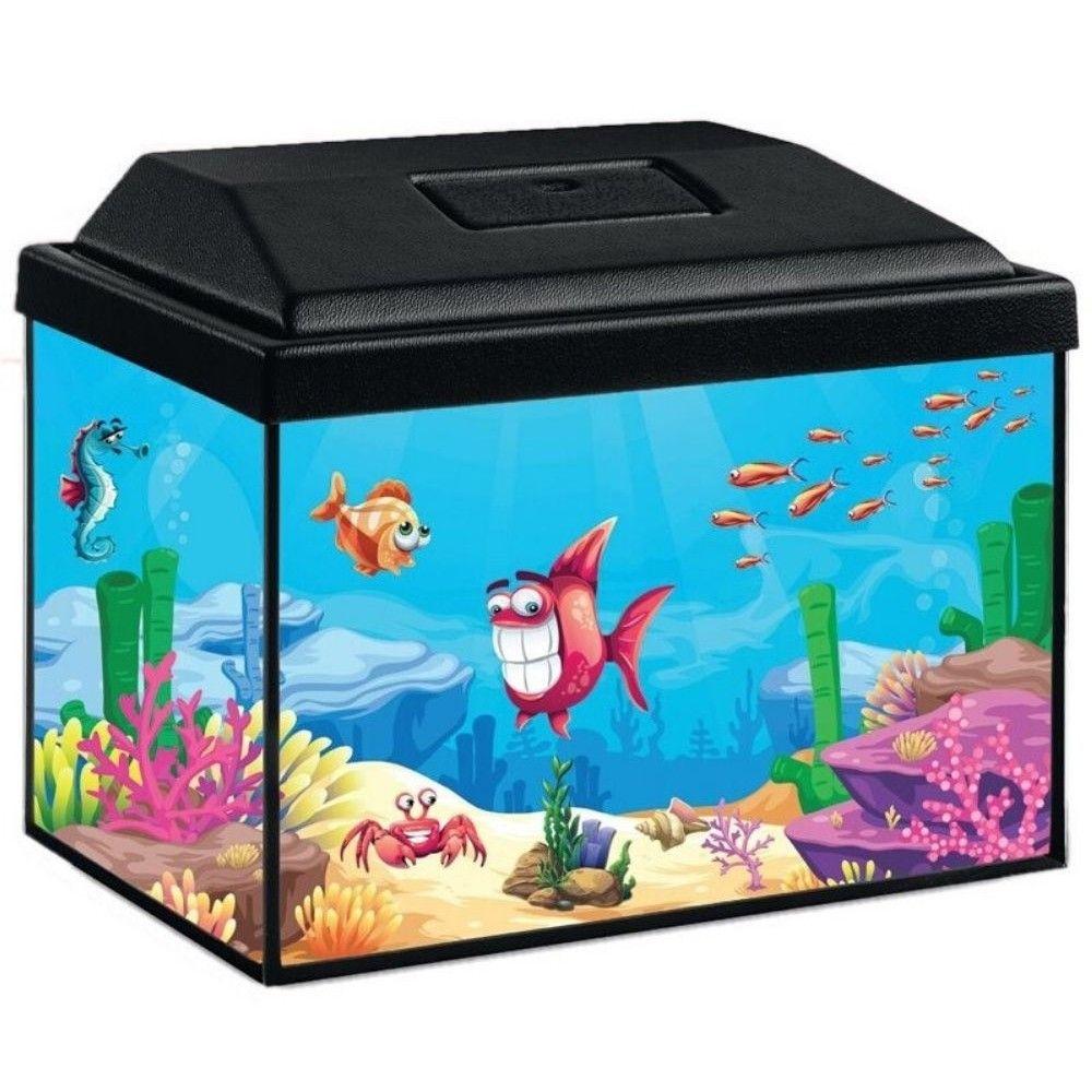 Akvárijní sada Splash 30cm/12 l s LED 3W - černý kryt Ostatní