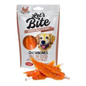 Brit Let´s Bite 300g Chewbones Calcium Sticks with Chicken Fillet