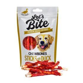 Brit Let´s Bite 300g Chewbones sticks with Duck