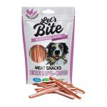 Brit Let´s Bite 80g Meat Snacks Chicken Stripes with Codfish