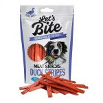 Brit Let´s Bite 80g Meat Snacks Duck Stripes
