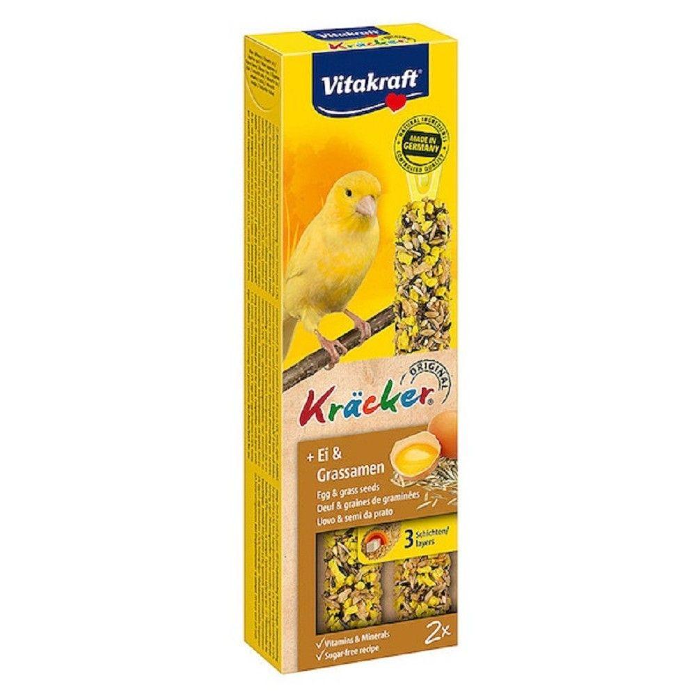 Kräcker tyč. kanár vejce+trávové semínko 2ks/bal. Ostatní