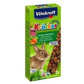 Kräcker tyč. králík zelenina+červ.řepa 2ks