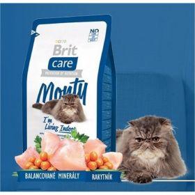 Brit care 0,4kg cat Monty Living Indoor