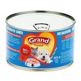 Grand  405g delikates směs dog 1ks