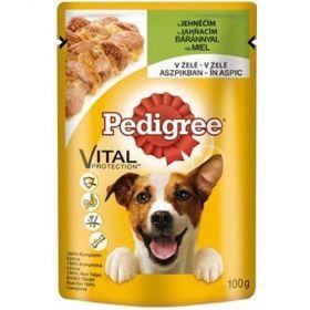 Pedigree 100g kapsička jehně v želé dog