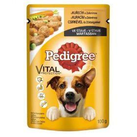 Ped.100g kapsička kuřecí/zelenina dog