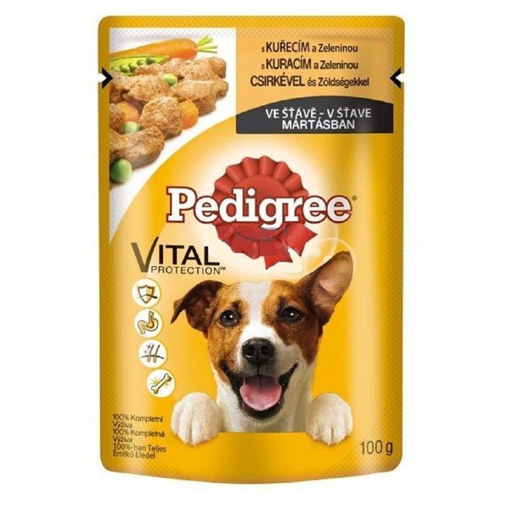 Ped.100g kapsička kuřecí/zelenina dog Pedigree