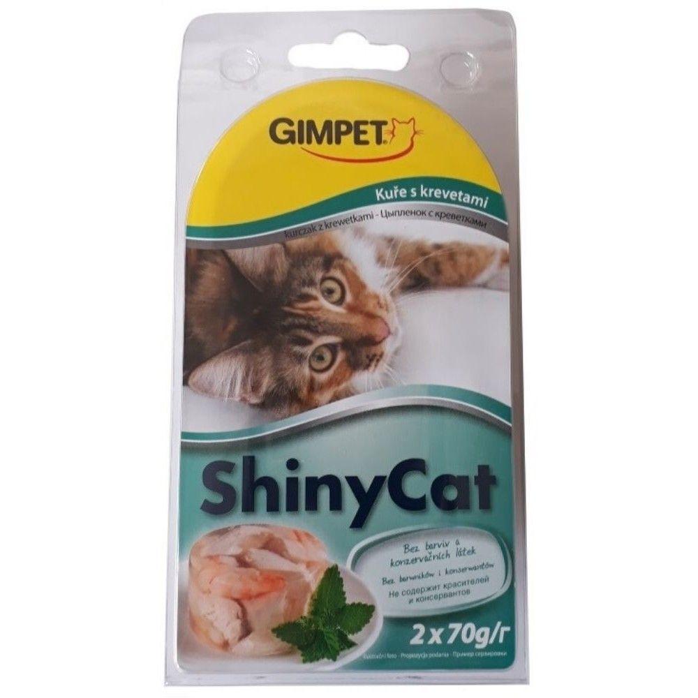 Shiny cat 2x70g kuře+krevety Ostatní