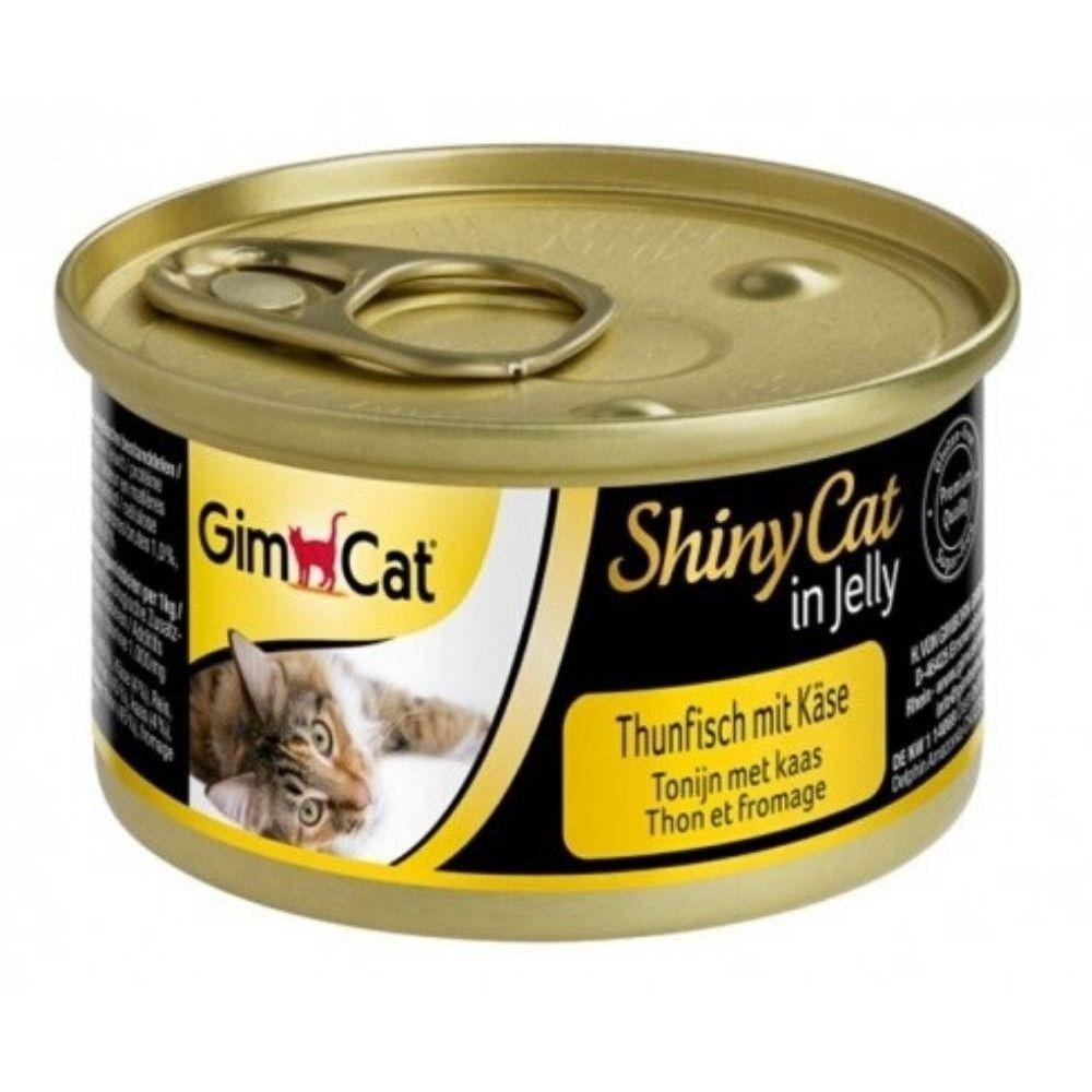 Shiny cat 70g tuňák+sýr Ostatní