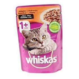 Whisk.100g kaps.drubeží ve šťávě cat