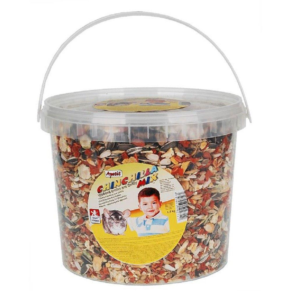 Apetit činčila mix 3l-kbelík
