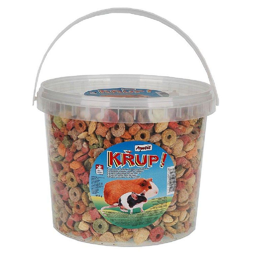 Apetit Křup 3l kbelík,extrudovaný doplněk stravy