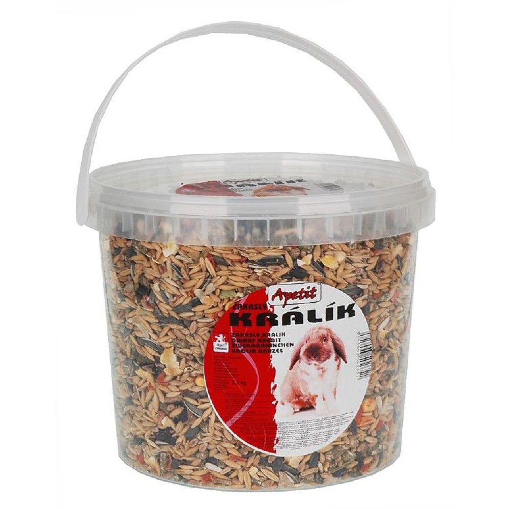 Apetit zakrslý králík 3l-kbelík