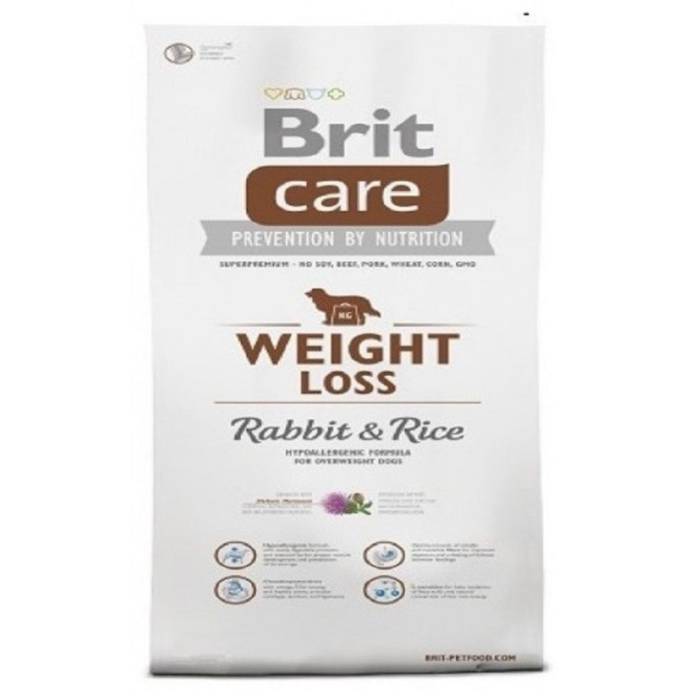 Brit care 12kg Weight Loss Rabbit+Rice
