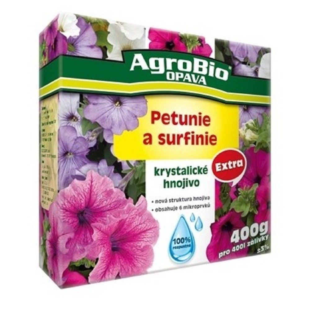 Krystalické hnojivo extra Petunie a Surfínie 400g Ostatní