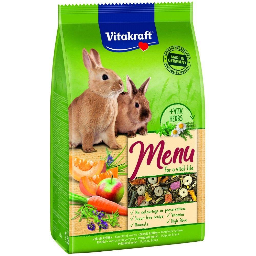 Menu vital králík 1kg/5ks Ostatní