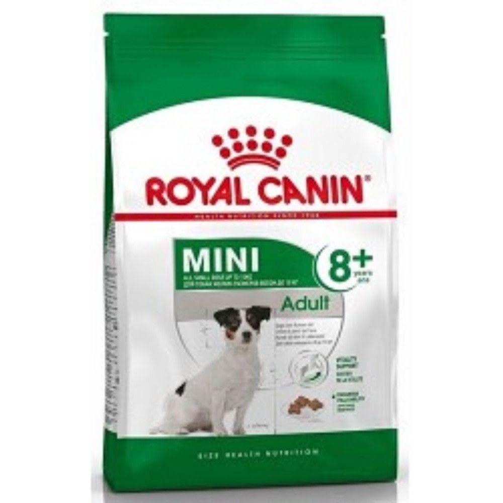 Royal Canin 800g mini Adult 8+ dog