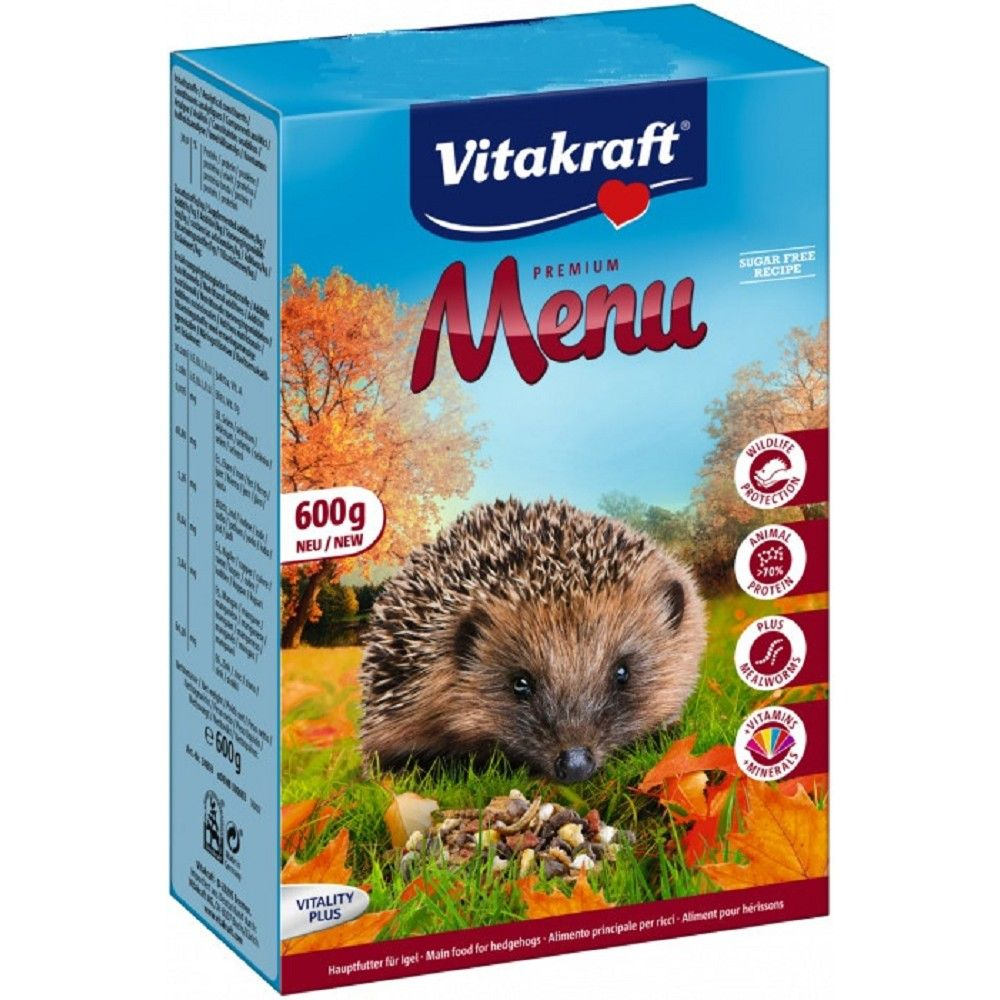 Vit.Menu ježek 600g/6ks Premium Vitakraft