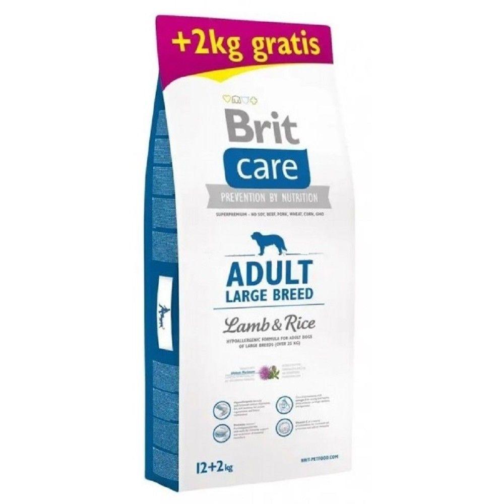 Brit care 12+2kg Adult LB Lamb & Rice