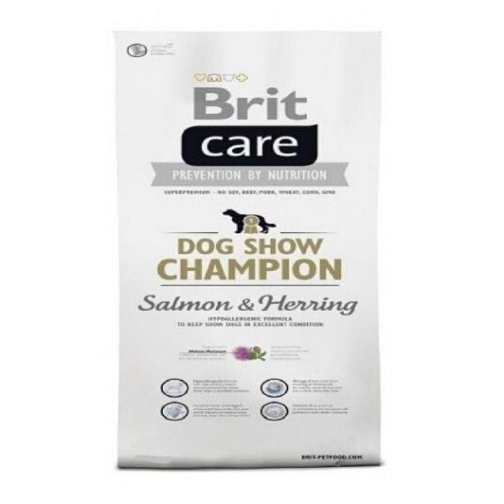 Brit care 12kg Adult show Champion Salmon+Herring