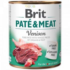 Brit Paté Meat 800g Venison
