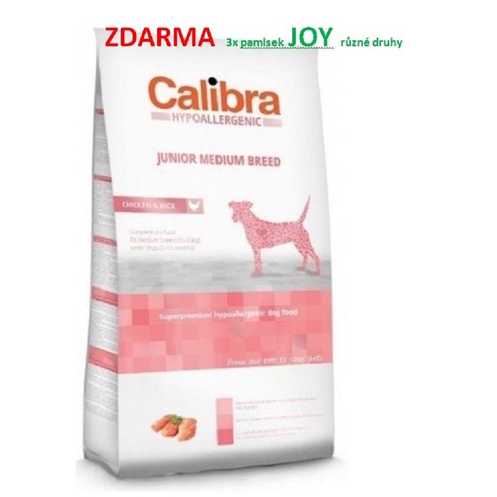 Calibra 14kg Junior MB hypoal. chicken+rice