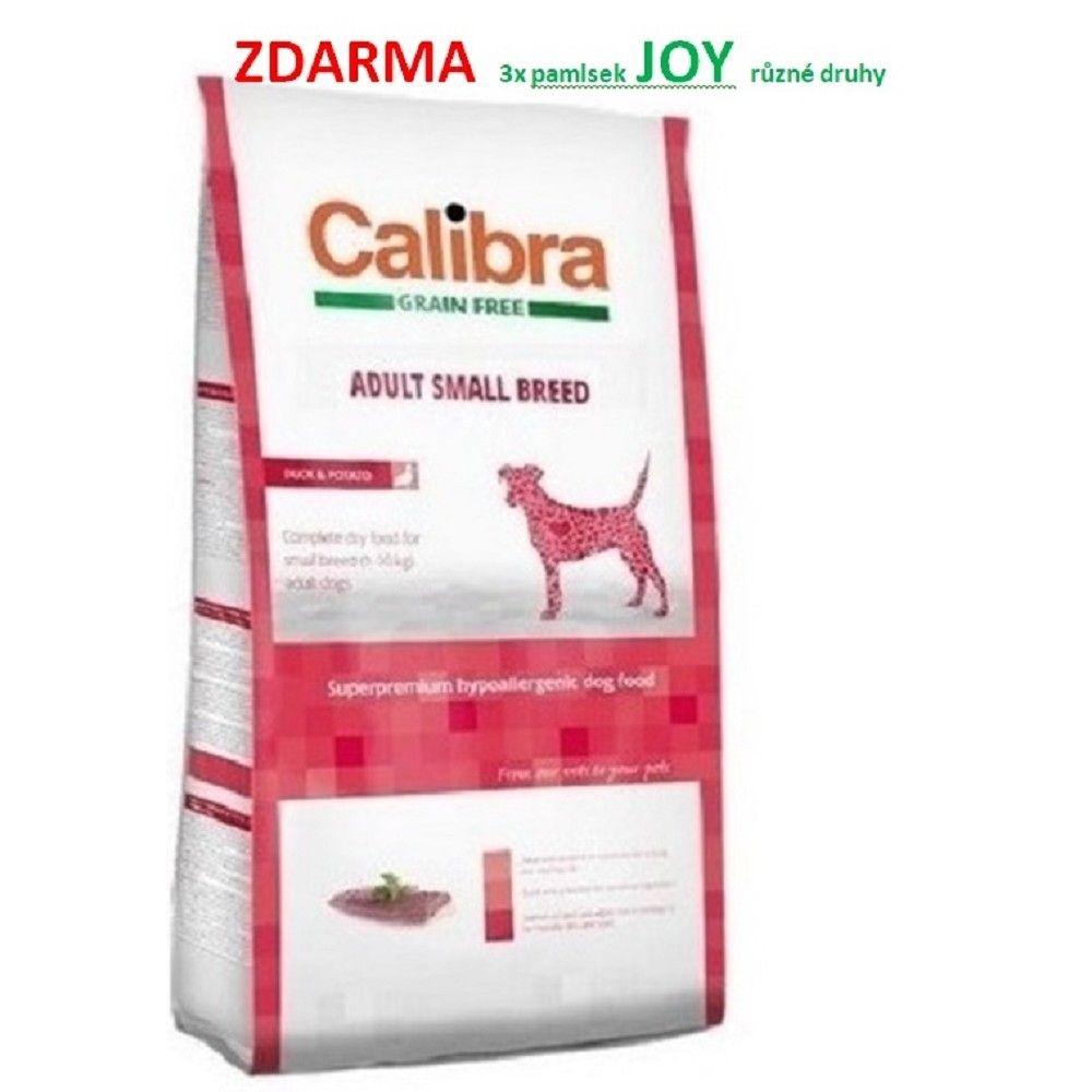 Calibra 7kg Adult SB grain free Duck Potato