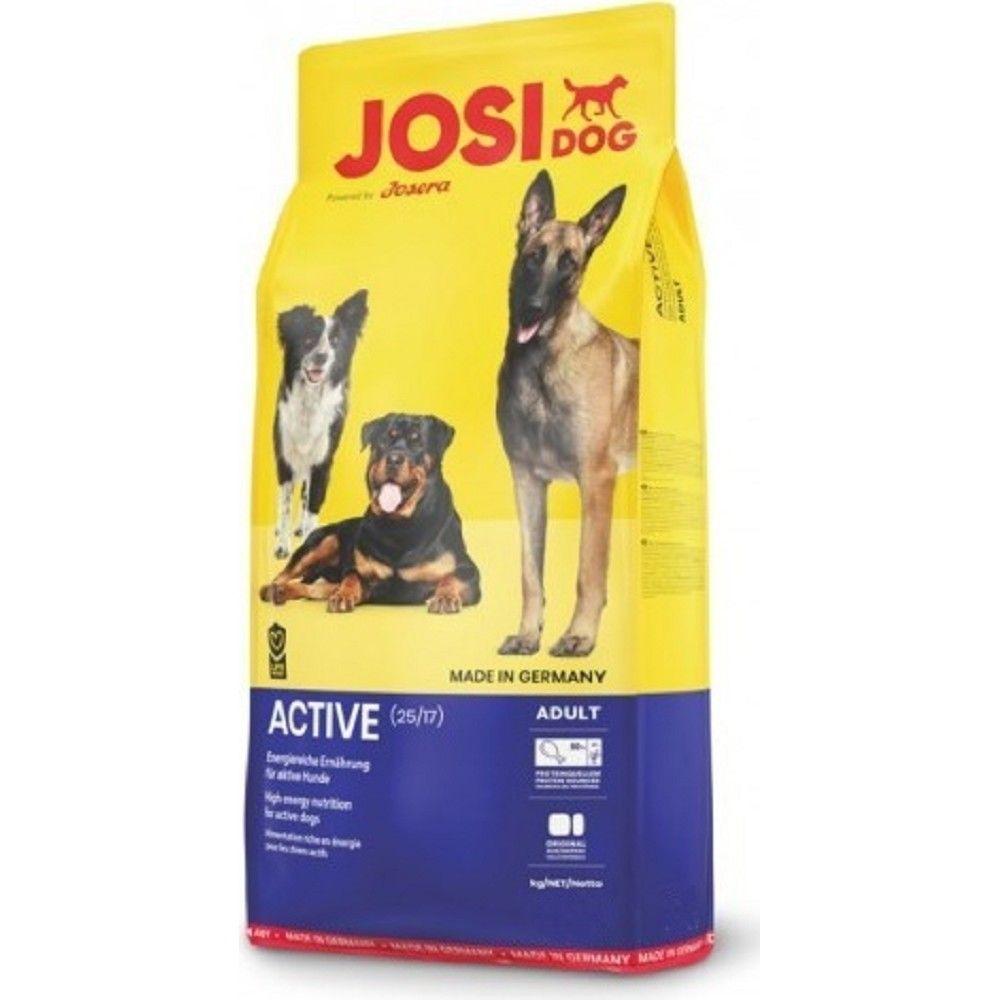 JosiDog 18kg Active 15kg+3kg zdarma Josera