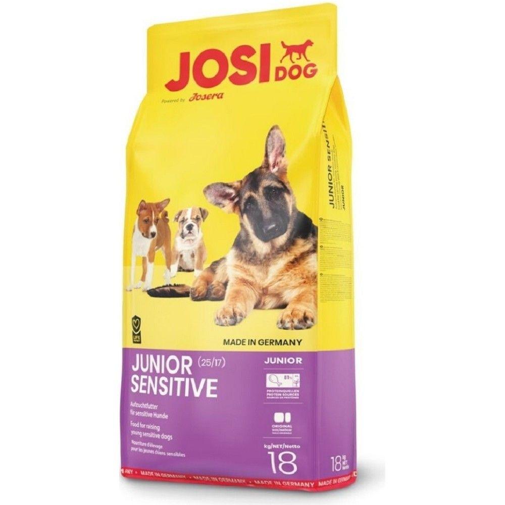 JosiDog 15kg+ 3kg Junior Sensitive Josera