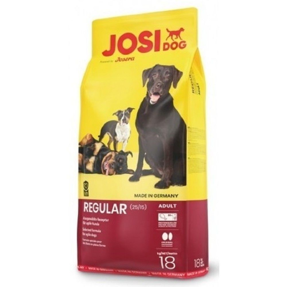 JosiDog 15kg+3kg Regular Josera