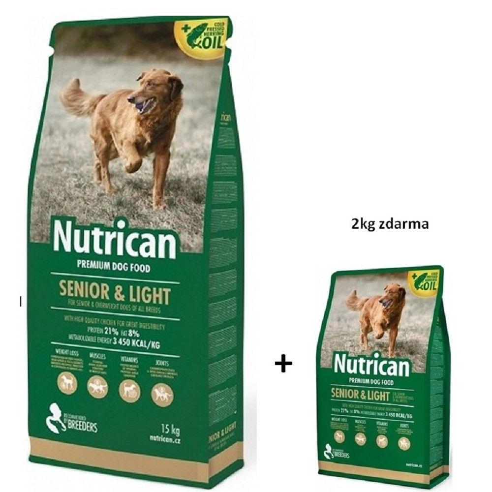 Nutrican 15+2kg Senior/Light