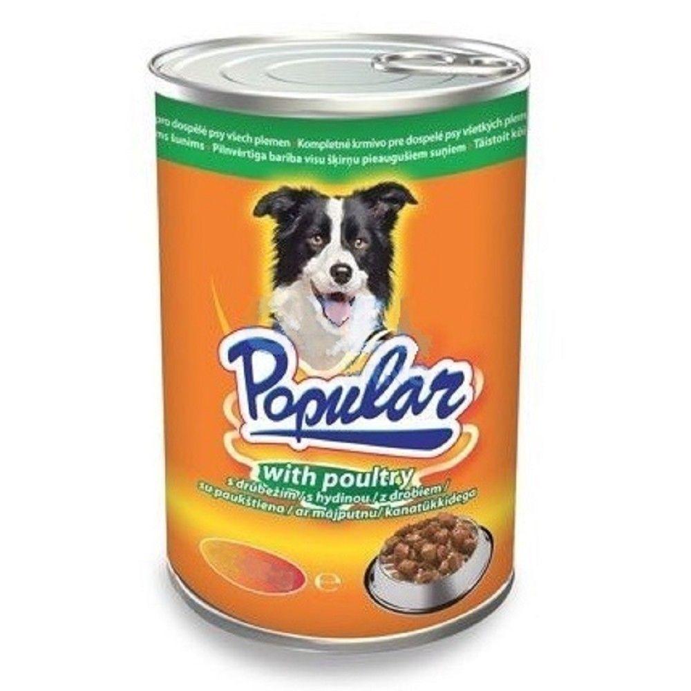 Popular 415g dog drůbeží kousky v omáčce 1ks/10ks 94 Ostatní