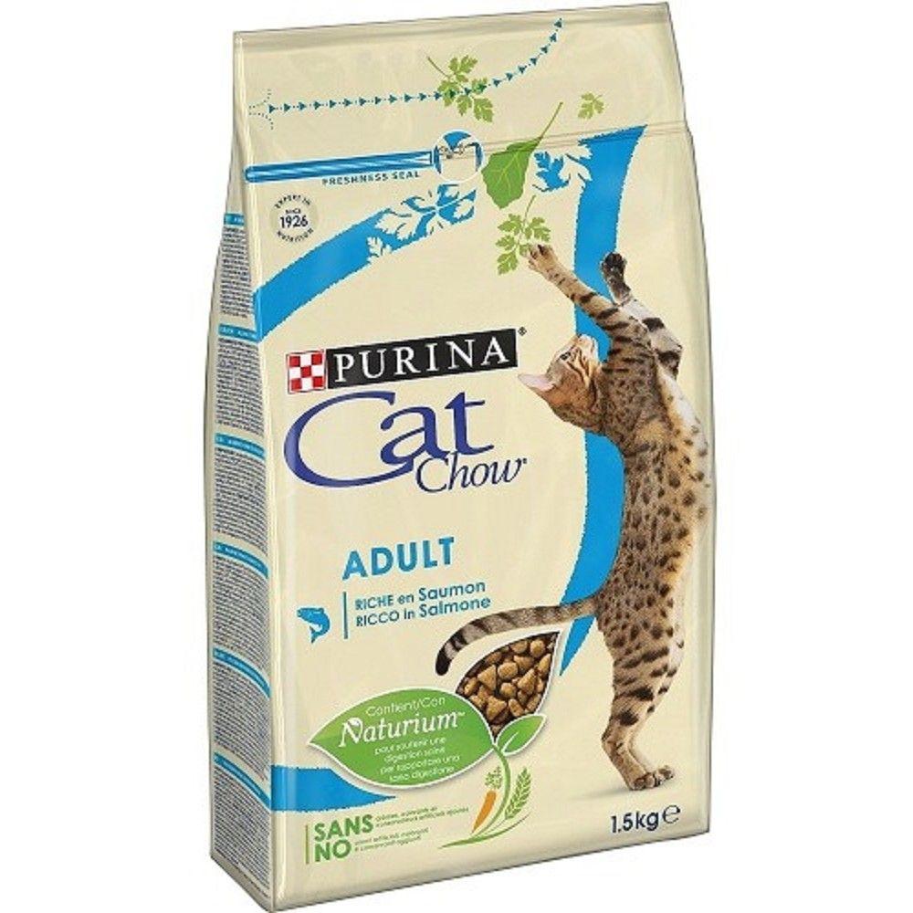 Purina Cat Chow 1,5kg tuňák+losos