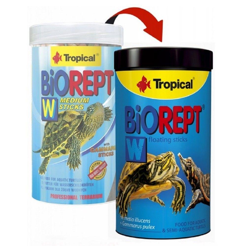 Tropical Biorept W medium 100ml granule pro želvy Ostatní