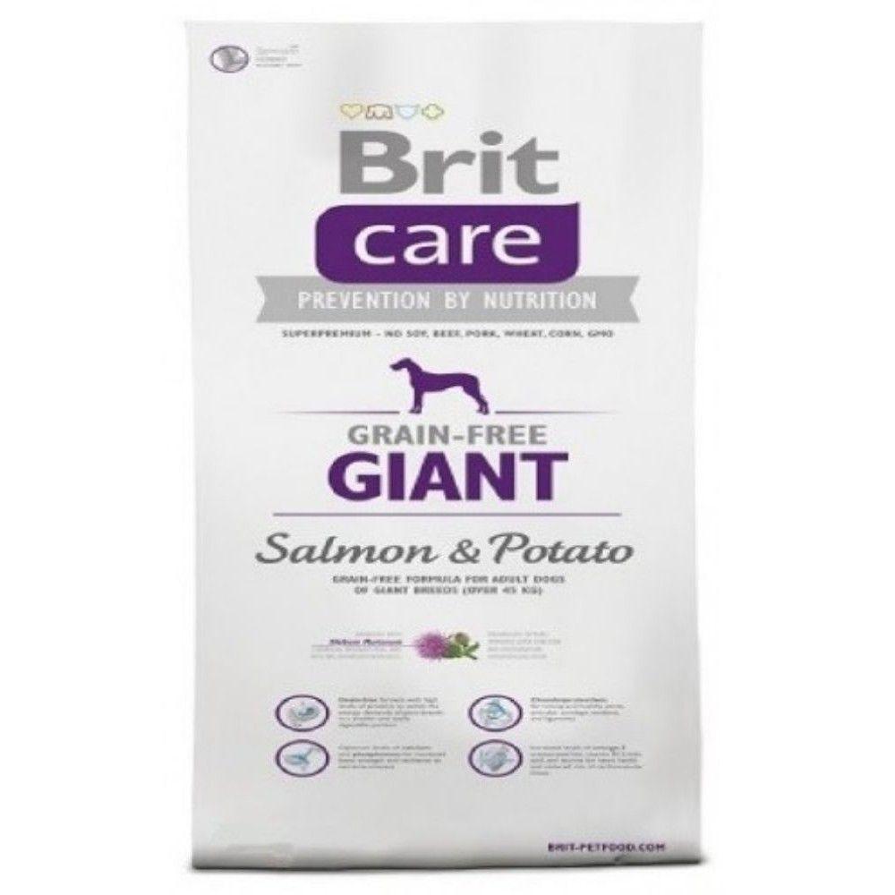 Brit care 12kg Adult Giant Salmon+Potato grain-free