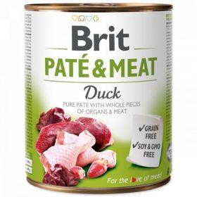 Brit Paté Meat 800g Duck