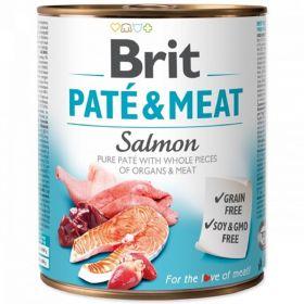 Brit Paté Meat 800g Salmon