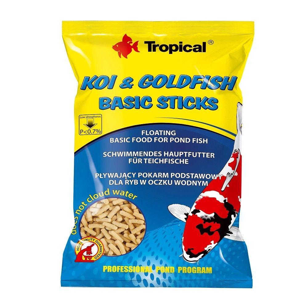 Tropical Koi-Goldfish Basic Sticks 1000ml sáček Ostatní