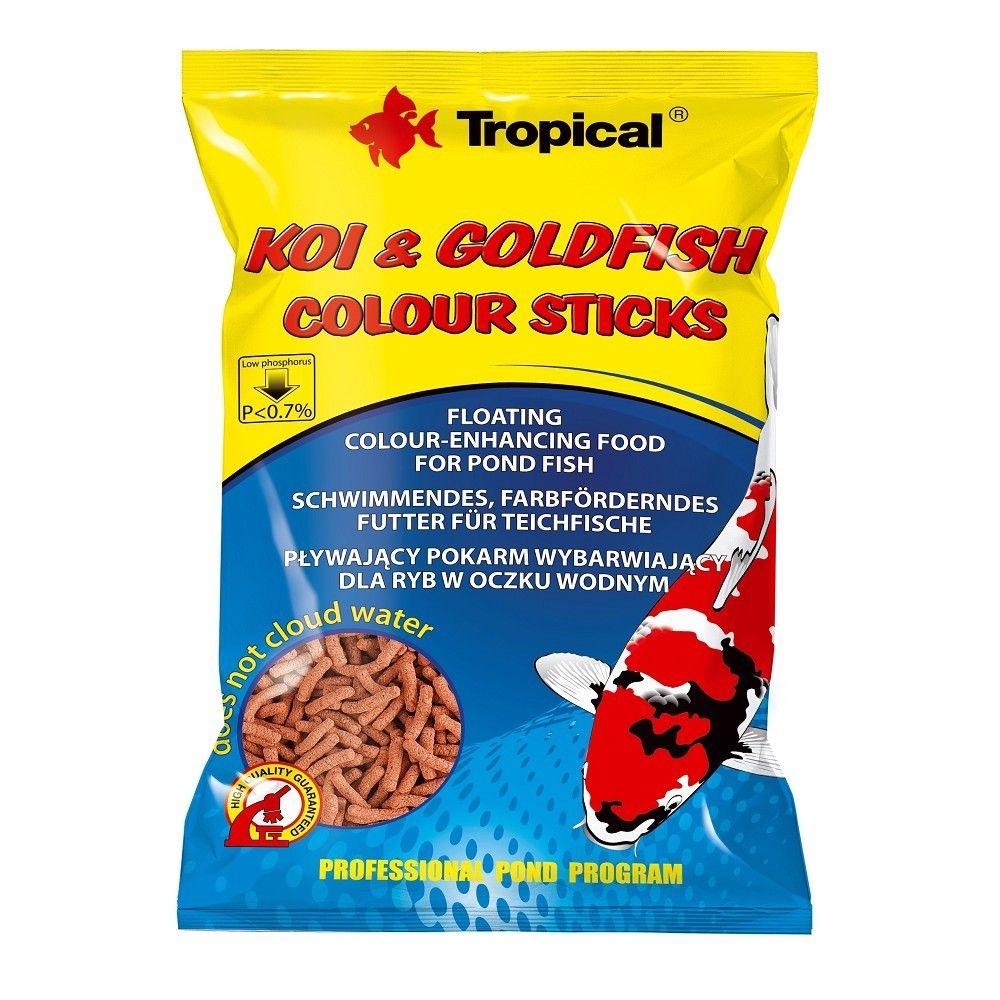 Tropical Koi-Goldfish Colour Stick 1000ml sáček Ostatní