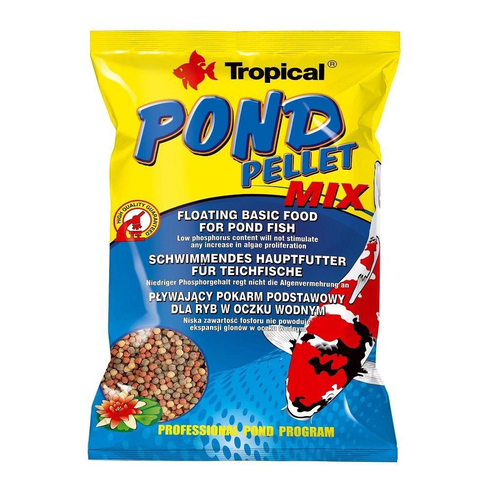 Tropical Pond Pellet Mix 1000ml sáček Ostatní