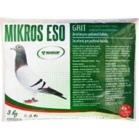 ESO grit Fe 3kg pro poštovní holuby se zvýšeným obsahem železa
