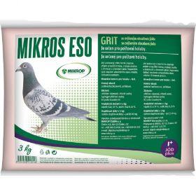 ESO grit I 3kg pro poštovní holuby se zvýšeným obsahem jodu