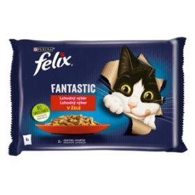 Felix Fantasic 85gx4ks kaps.králík+jehně v želé