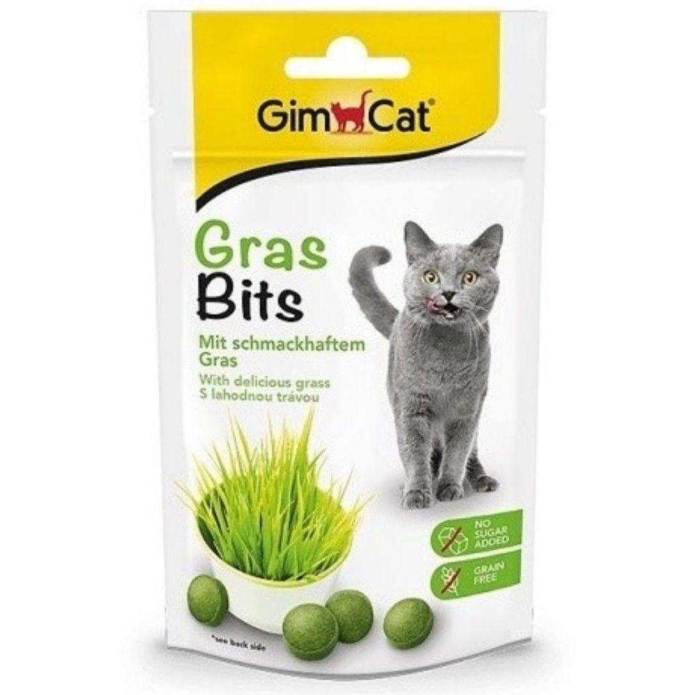 Gras Bits 65tabl.s trávou pro kočky 40g Ostatní