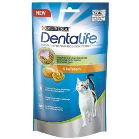 Purina Dentalife Cat 40g kuře/8ks