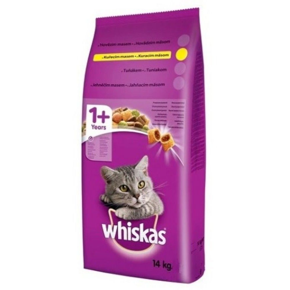 Whiskas 14kg drůbež