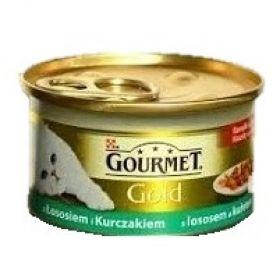 Gourmet  85g gold los+kuř.kousky